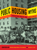 Public Housing Myths