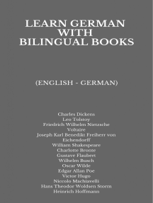 Learn German with Bilingual Books: (English - German)