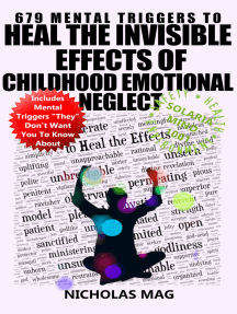 679 Mental Triggers to Heal the Invisible Effects of Childhood Emotional Neglect