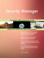 Security Manager Complete Self-Assessment Guide