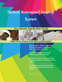 Tactical Automated Security System The Ultimate Step-By-Step Guide