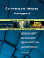 Governance and Metadata Management Complete Self-Assessment Guide