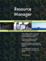 Resource Manager Standard Requirements