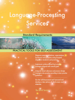 Language-Processing Services Standard Requirements