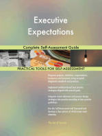 Executive Expectations Complete Self-Assessment Guide