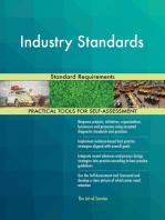 Industry Standards Standard Requirements