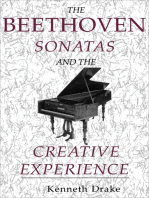 The Beethoven Sonatas and the Creative Experience