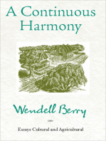 A Continuous Harmony