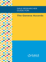 Gale Researcher Guide for: The Geneva Accords