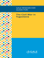 Gale Researcher Guide for: The Civil War in Yugoslavia