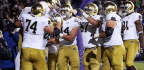 Ian Book Shines As Notre Dame Holds Off Northwestern, 31-21