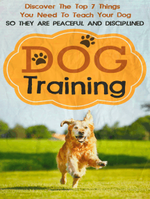 Dog Training: Discover The Top 7 Things You Need To Teach Your Dog So They Are Peaceful And Disciplined