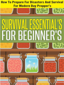 Survival Essentials For Beginners - How To Prepare For Disasters And Survival For Modern Day Preppers