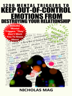 1290 Mental Triggers to Keep Out-of-Control Emotions from Destroying Your Relationship