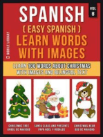 Spanish ( Easy Spanish ) Learn Words With Images (Vol 8)