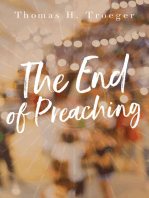 The End of Preaching