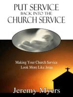 Put Service Back into the Church Service