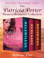 The Patricia Potter Western Romance Collection Volume One
