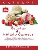 Recetas de Helado Caseros