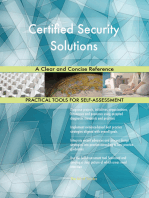 Certified Security Solutions A Clear and Concise Reference