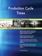Production Cycle Times Standard Requirements