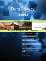 Data Privacy Issues Standard Requirements