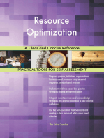 Resource Optimization A Clear and Concise Reference