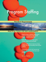 Program Staffing Standard Requirements