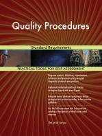 Quality Procedures Standard Requirements