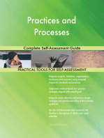 Practices and Processes Complete Self-Assessment Guide