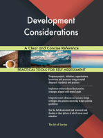 Development Considerations A Clear and Concise Reference