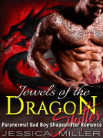 Jewels Of The Dragon Shifter (Bad Boy Shapeshifter Romance)