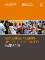 Risk Communication Applied to Food Safety Handbook