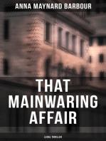 That Mainwaring Affair (Legal Thriller)