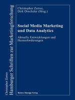 Social Media Marketing und Data Analytics