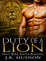 Duty Of A Lion (Navy SEAL Shifter Romance)