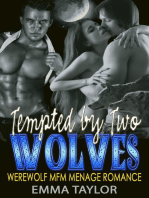 Tempted By Two Wolves (Werewolf MFM Menage Romance)