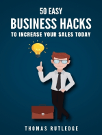 50 Easy Business Hacks to Increase Your Sales Today