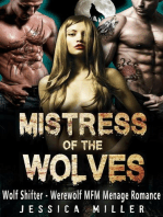 Mistress of the Wolves (Wolf Shifter - Werewolf MFM Menage Romance)