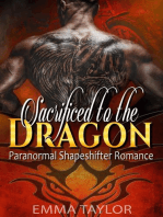 Sacrificed to the Dragon - Paranormal Shapeshifter Romance