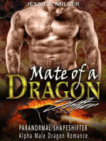 Mate of a Dragon Shifter (Paranormal Shapeshifter Alpha Male Dragon Romance)