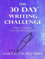 The 30-Day Writing Challenge