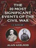 The 20 Most Significant Events of the Civil War