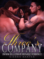 Three's Company - BWWM Billionaire Menage Romance