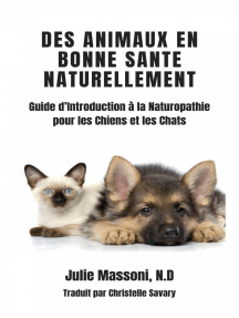 Des Animaux en Bonne Santé Naturellement