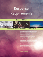 Resource Requirements Second Edition
