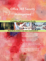 Office 365 Security Management Complete Self-Assessment Guide