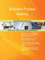Business Process Metrics Standard Requirements