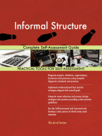 Informal Structure Complete Self-Assessment Guide