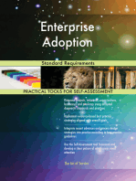Enterprise Adoption Standard Requirements